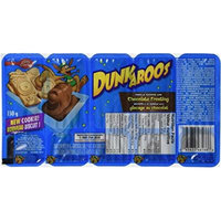 Dunkaroos Pack of 2 with Chocolate Frosting, Imported From Canada