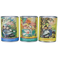 Raggedy Ann & Andy Smores & Chocolate Cocoa Mix, Double Chocolate Cocoa Mix & Olde Thyme Lemonade Mix Gift Set of 3 Tins by McSteven's