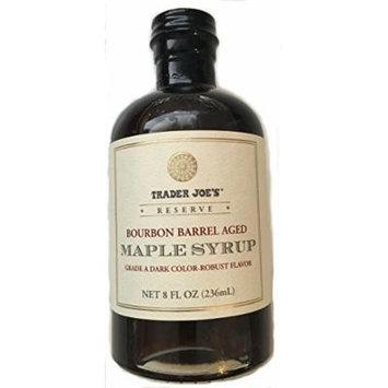 Trader Joe's Bourbon Barrel Aged Maple Syrup 8 Fl Oz