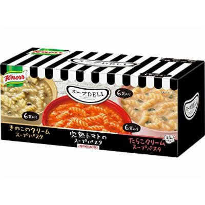 Knorr DELI Variety box 18 bags Soup Japanese Edition