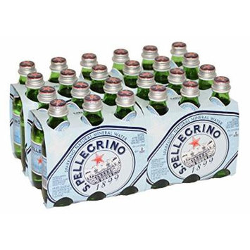 S.Pellegrino - Sparkling Natural Mineral Water - Case of 24 Glass Bottle of 250 ml/8.4 oz./ea