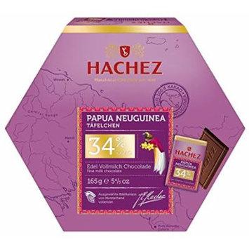 Hachez Papua New Guinea 34% - Cocoa Milk Chocolate (165g)