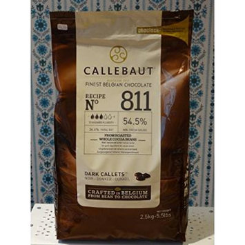 Callebaut Dark Chocolate Callets 5.5 Lb (2 Pack)