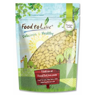 Food to Live ALMONDS (Whole, Blanched) (4 Pounds)