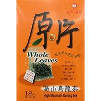 TenRen High Mountain Oolong Tea, Whole Leaves, 18 Tea Bags (Pack of 2)