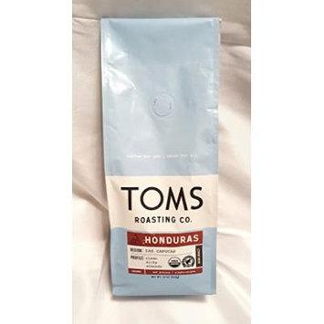 Toms Roasting Co. Coffee 2 - 12 oz Bags (Honduras Ground Coffee)