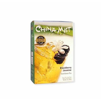 China Mist, Blackberry Jasmine Green Tea Bags for Iced Tea, (3 Pack)