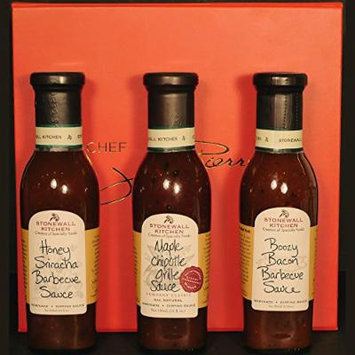 BBQ Gift Box - Boozy Bacon Barbecue Sauce, Honey Sriracha Barbecue Sauce & Maple Chipotle Grille Sauce