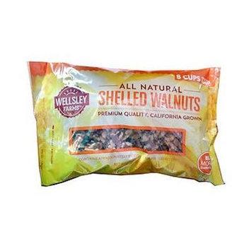 Wellsley Farms All Natural Pecan Halves - 24oz Bag