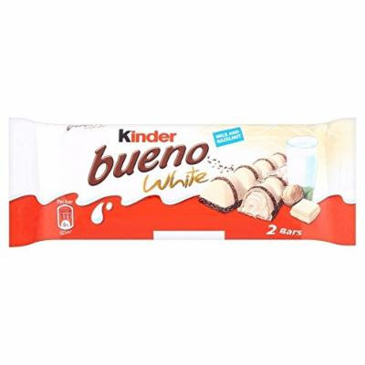 Kinder Bueno White Chocolate Bars 39g x pack of 10