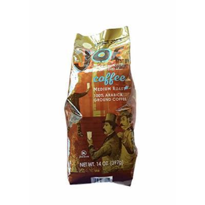 Traders Joes Joe Medium Roast 100% Ground Arabica Bean Coffe 14 oz
