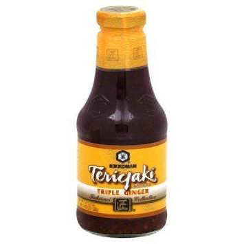 Kikkoman Triple Ginger Teriyaki Sauce, 19.5 fl oz ( 1 BOTTLE )