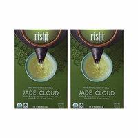 Rishi Tea - Organic Jade Cloud, 15 tea bags (Pack of 2)