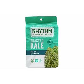 Rhythm Roasted Kale Chips, Pack of 6, 0.75oz (Sea Salt & Vinegar)