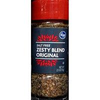 Kroger Salt Free Zesty Blend Original 2.5 Oz (Pack of 3)