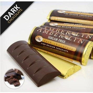Sugar-free Dark Chocolate Bars, Low Carb, Diabetic Friendly, Gluten-free (Dark Chocolate, 5 bars)