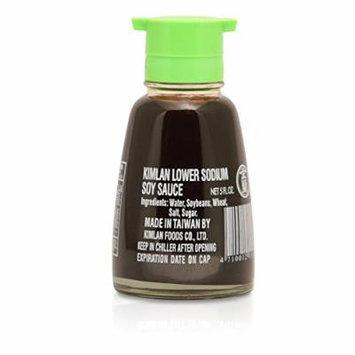 Kimlan Low Sodium Soy Sauce 5 Oz (Pack of 3)