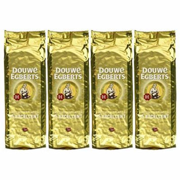 Douwe Egberts Excellent Aroma Whole Bean Coffee 17.6oz (Pack of 4)