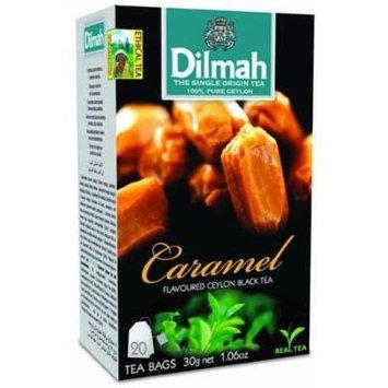 Dilmah, Tea, Single Origin Pure Ceylon Tea (Caramel, 20 Tea Bags (Pack of 3))