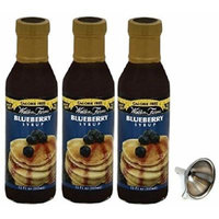 Walden Farms Blueberry Syrup 3 Pack