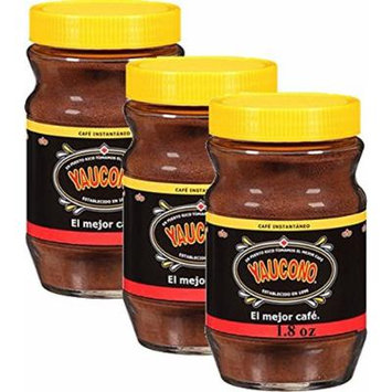 Yaucono Instant Coffee 1.8 Jar Pack of 3