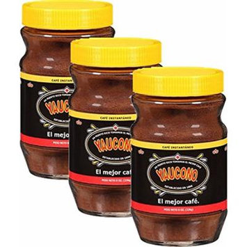 Yaucono Instant Coffee 3.6 Jar Pack of 3
