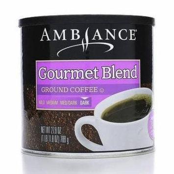 Ambiance Ground Coffee (Gourmet Blend, 27.8oz)