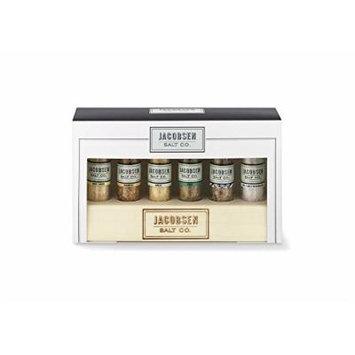 Jacobsen Salt Gift Set with Wood Holder Display
