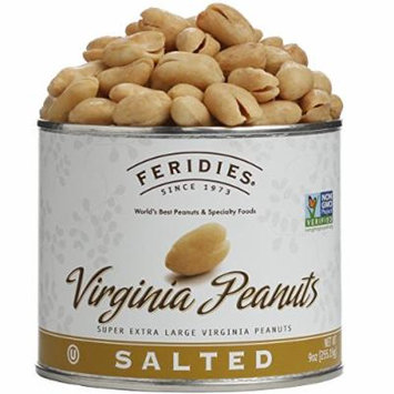 2-pack of Feridies Giant Williamsburg Virginia Peanuts - 9-ounce Can