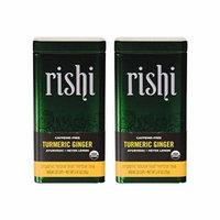 Rishi Tea Turmeric Ginger Organic Herbal Blend, Loose Leaf, 2.4 Ounce (Pack of 2)