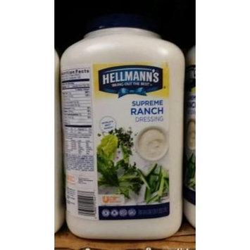 Hellmann's Supreme Ranch Dressing 1 Gal (2 Pack)