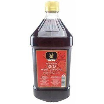 De Nigris Red Wine Vinegar 100% Italian 67.6 Fl Oz