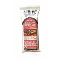 Thrive by GoMacro - Chocolate Peanut Butter Chip - Ancient Seeds Superfood Nut Bar - 1.4oz - Pack of 12