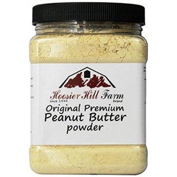 Hoosier Hill Farm Peanut Butter Powder, 2 Lbs., Gluten Free, Non-GMO, Made in USA