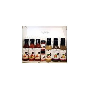 Simple Girl Deluxe Low-Sugar BBQ Sauce, Dressing and Spice Set