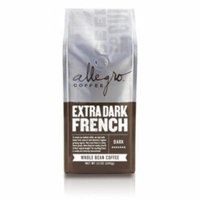 Allegro Ground Coffee 2, 12 oz Bags (Extra Dark French)