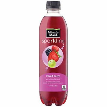 Minute Maid Sparkling, Mixed Berry, 16.9 fl oz, 12 Pack