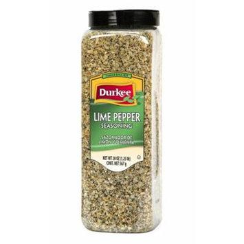 Durkee Lime Pepper Seasoning, 20 oz. (2 pack)