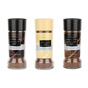 Davidoff Café Rich Aroma, Fine Aroma & Espresso 57 Instant Coffee, 3 Jars Bundle 3.5oz/100g Each