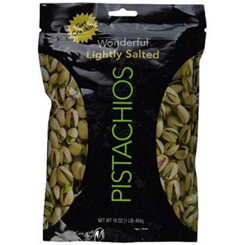 Wonderful Pistachios, Lightly Salted Flavor, 16 oz (2 pk)