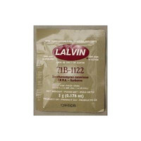 Lalvin 71B-1122 Wine Yeast, 5 grams - 100-Pack