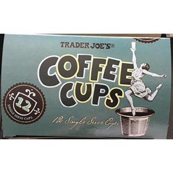 Trader Joe's Coffee Cups Dark Roast 12 single serve cups (Pack of 2)