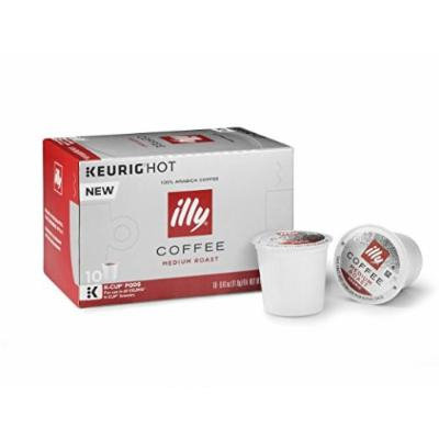 2 Boxes of illy K-cups Pods (Medium Roast)