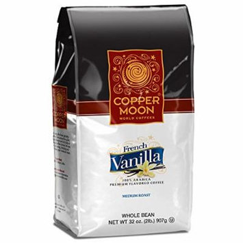 Copper Moon Whole Bean Coffee, French Vanilla, 2 Pound