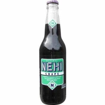 Nehi Grape Glass Soda, 12 oz (24 Bottles)