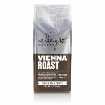 Allegro Ground Coffee 2, 12 oz Bags (Vienna Roast)