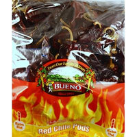 Red Chili Chile Peppers from Hatch New Mexico, with FREE Red Chili Sauce Recipe, Bueno 10 Ounce Bag (Choose from MILD, HOT, or EXTRA HOT) (EXTRA HOT)