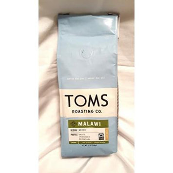 Toms Roasting Co. Coffee 2 - 12 oz Bags (Malawi Ground Coffee)