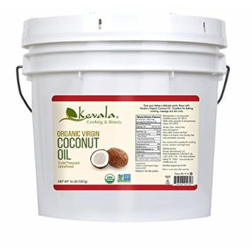 Kevala Organic Coconut Oil, 16 Pound