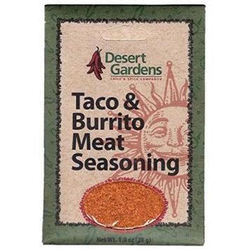Desert Gardens Taco & Burrito Meat Seasoning (Pack of 4)